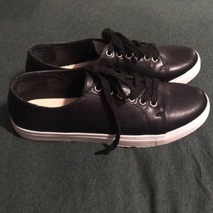 JustFab Black Lenore Sneakers